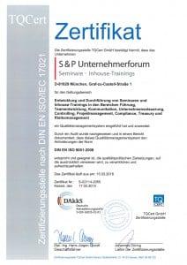Zertifikat DIN Deutsch