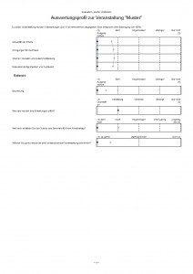 S&P Unternehmerforum - Seminarbeurteilung - Seminarbewertung - Qualitätssicherung
