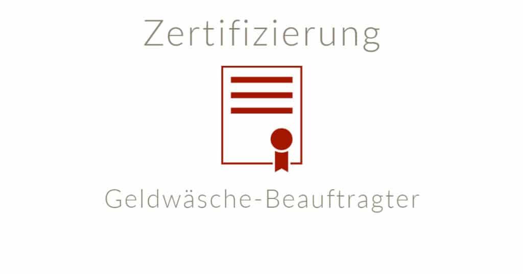 Zertifizierter Geldwäsche-Beauftragter (S+amp;P) online buchen