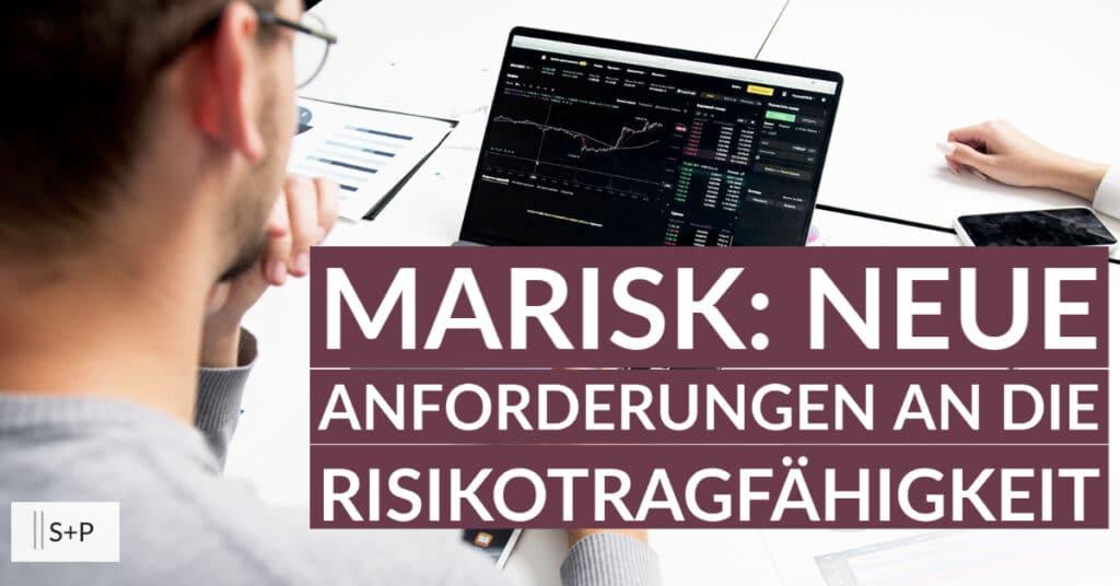 Neue MaRisk: Risikotragfähigkeit - SREP - ICAAP