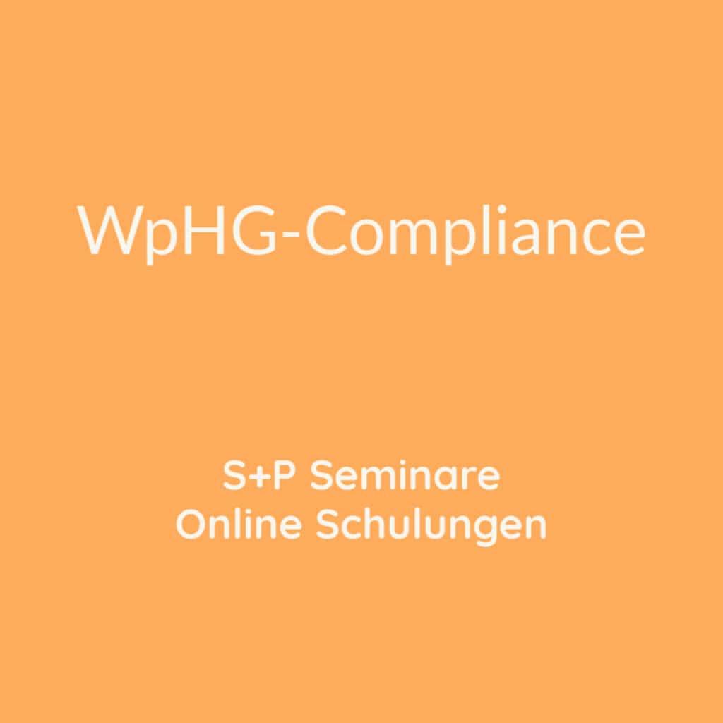 Seminare WpHG-Compliance und Online Schulungen WpHG-Compliance