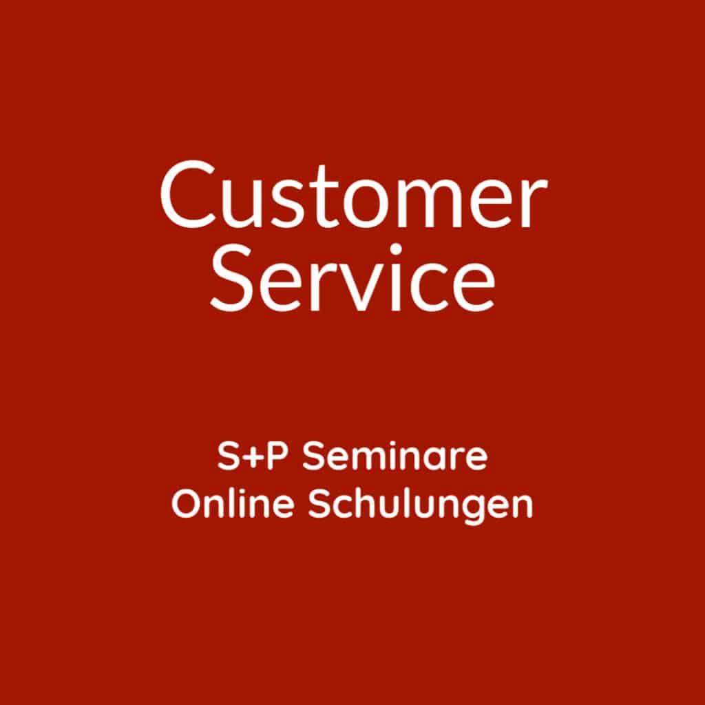Seminare Customer Service + Online Schulungen Customer Service