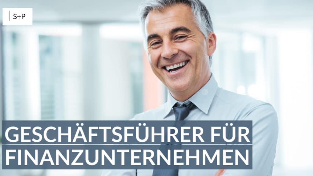 Seminar Geschäftsführer im Finanzunternehmen