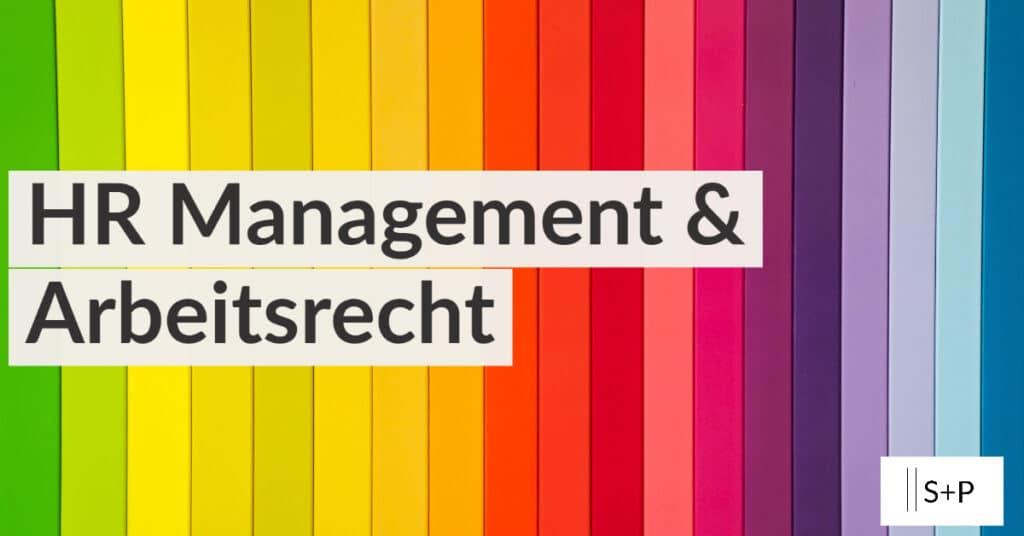 Seminar Personalmanagement und Arbeitsrecht