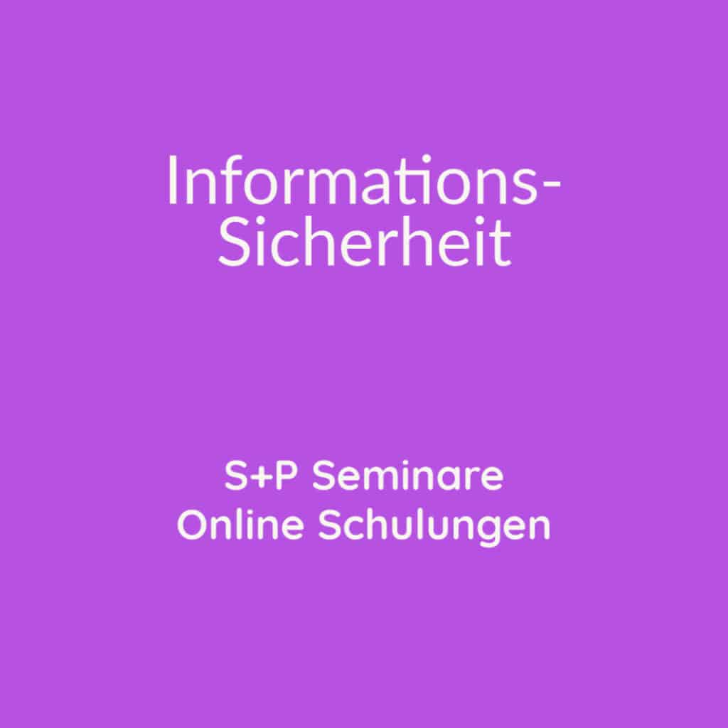 Seminare Chief Information Security Officer