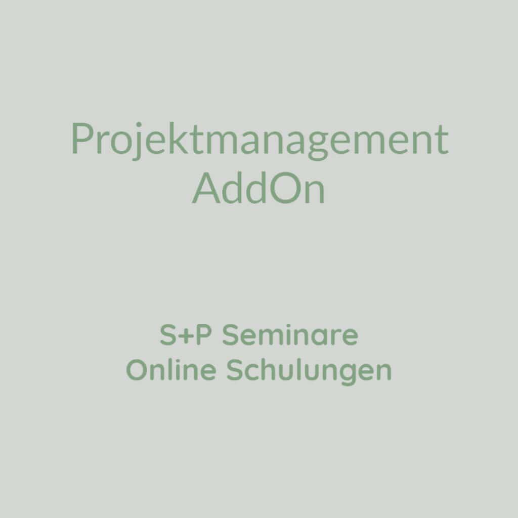 Projektmanagement AddOn